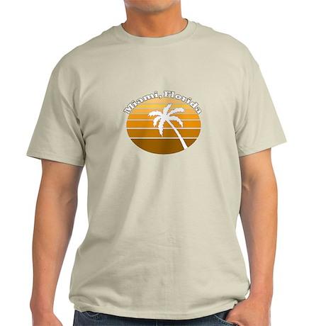 Miami, Florida Light T-Shirt