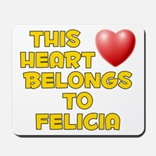 This Heart: Felicia (D) Mousepad