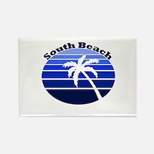 South Beach, Florida Rectangle Magnet