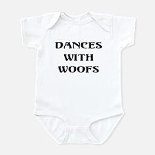 Dances with woofs Infant Bodysuit