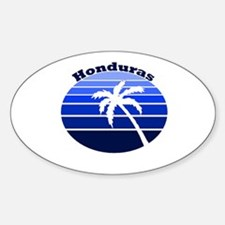 Honduras Oval Decal