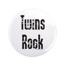 "Twins Rock 3.5"" Button"