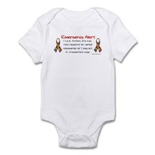 Alert Infant Bodysuit