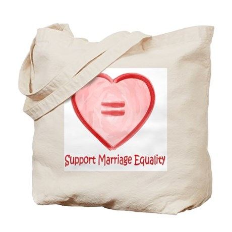 Support Marriage Equality Tote Bag