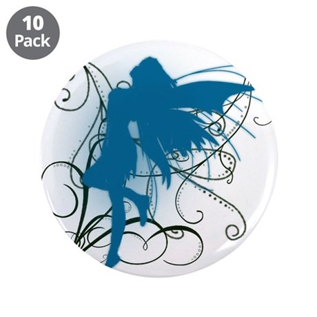 """fairy 3.5"""" Button (10 pack)"""