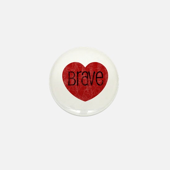 Brave Heart Mini Button