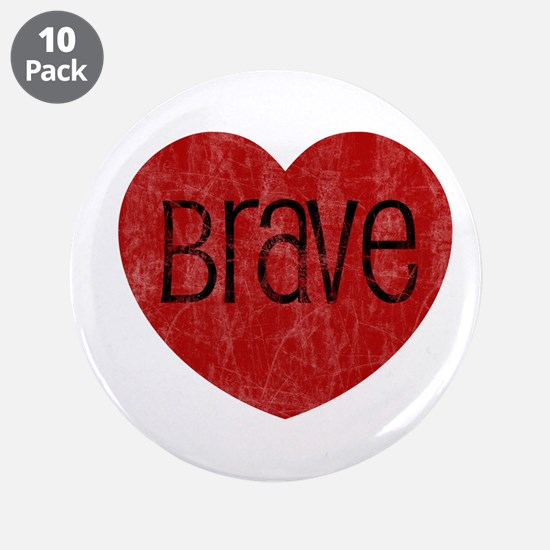 "Brave Heart 3.5"" Button (10 pack)"