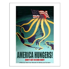 America Hungers Posters