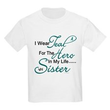 Teal For My Hero 1 (Sister OC) T-Shirt