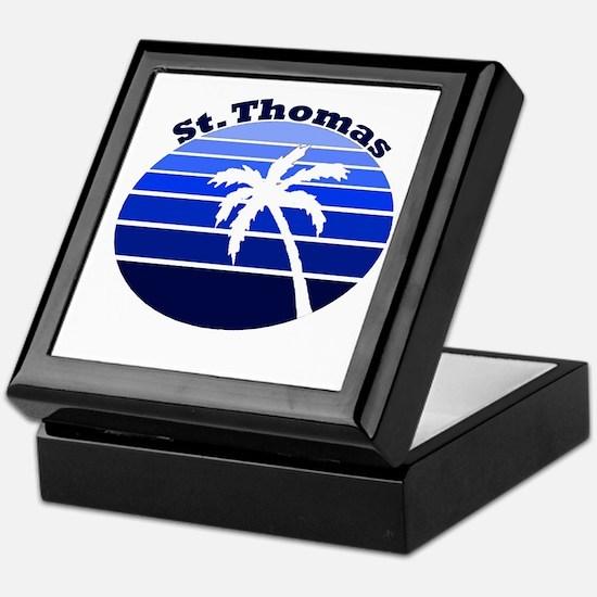 St. Thomas, USVI Keepsake Box