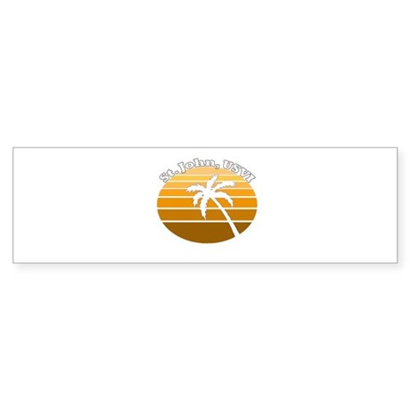 St. John, USVI Bumper Sticker