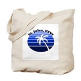 Saint thomas Canvas Totes