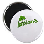 IRELAND with Shamrock Magnet