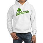 IRELAND with Shamrock Hooded Sweatshirt