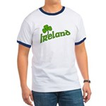 IRELAND with Shamrock Ringer T
