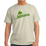 IRELAND with Shamrock Light T-Shirt
