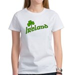 IRELAND with Shamrock Women's T-Shirt