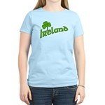 IRELAND with Shamrock Women's Light T-Shirt