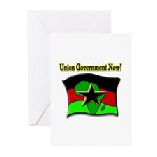 Union Government Now! Greeting Cards (Pk of 10)