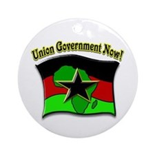 Union Government Now! Ornament (Round)