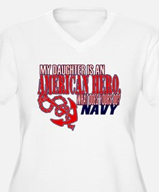 NAVY HERO (daughter) T-Shirt