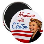 Montana votes Clinton Magnet