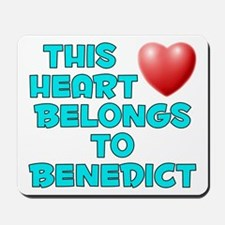 This Heart: Benedict (E) Mousepad