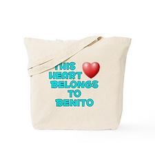 This Heart: Benito (E) Tote Bag
