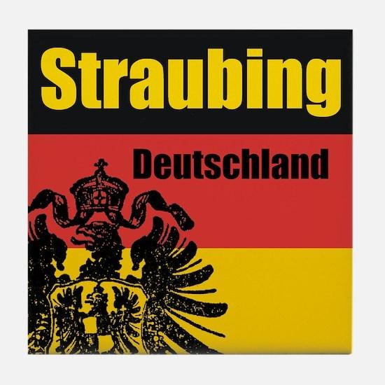 Straubing Deutschland  Tile Coaster