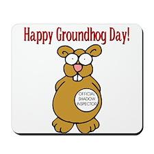 Ground Hog Day Mousepad