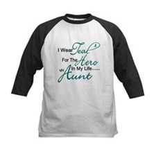 Teal For My Hero 1 (Aunt OC) Tee
