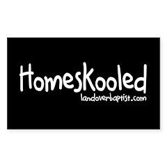 Homeskooled Rectangle Decal