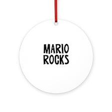 Mario Rocks Ornament (Round)