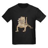 Bearded dragon Kids T-shirts (Dark)