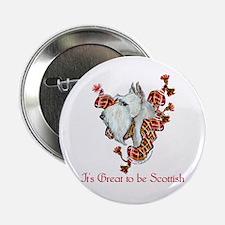 """Great Scottish Terrier Scotty 2.25"""" Button"""