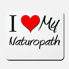 I Heart My Naturopath Mousepad