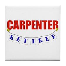 Retired Carpenter Tile Coaster