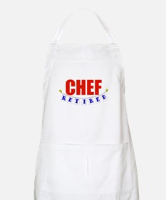 Retired Chef BBQ Apron
