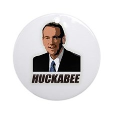 Huckabee Ornament (Round)
