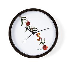 Fresno Wall Clock