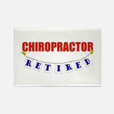 Retired Chiropractor Rectangle Magnet