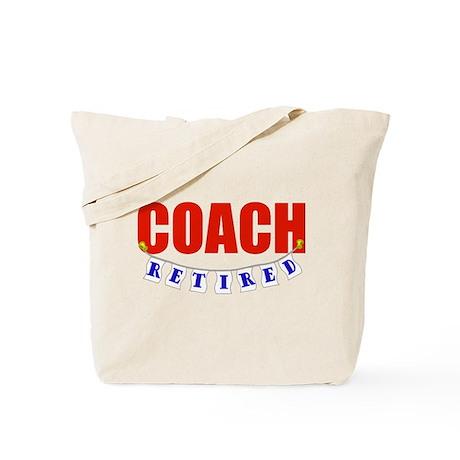 Retired Coach Tote Bag
