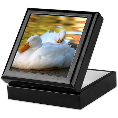 Sleeping Ducks Keepsake Box