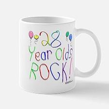 28 Year Olds Rock ! Mug