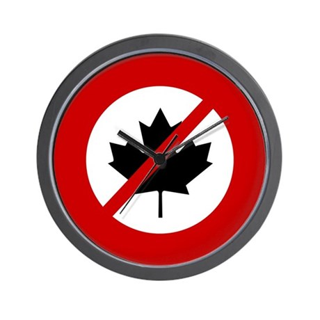 CANADIANS Wall Clock