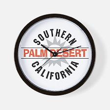 Palm Desert California Wall Clock