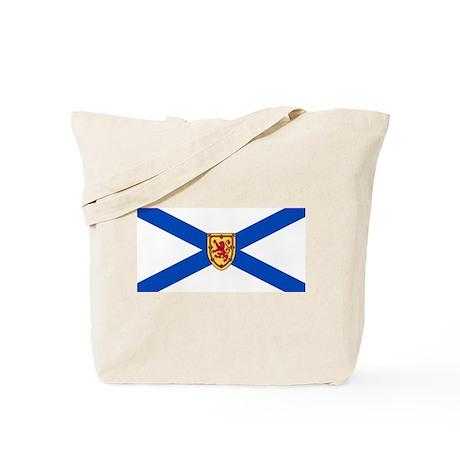 Nova Scotia Flag Tote Bag