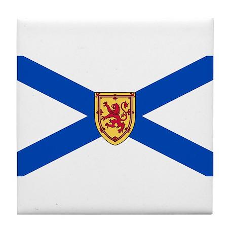 Nova Scotia Flag Tile Coaster