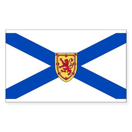Nova Scotia Flag Rectangle Sticker