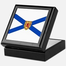 Nova Scotia Flag Keepsake Box